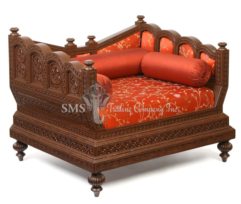 Diwans day beds diwan sets for Diwan bed set