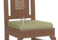 Round Top Jaali Chair
