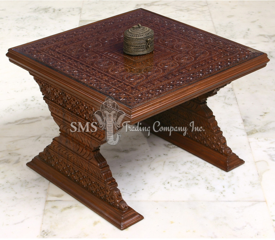 Bracket Design End Table