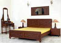 Diamond Design Bed