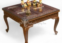Panel Design End Table