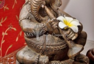 Ganesha with Musical Instrument #3 (Antique)