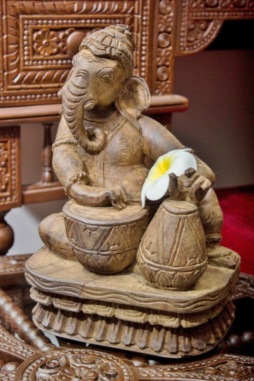 12 in Ganesha with Musical Instrument : $ 199