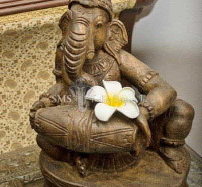 Ganesha with Musical Instrument #5 (Antique)