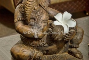Ganesha with Musical Instrument #6 (Antique)