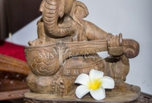 Ganesha with Musical Instrument #7 (Antique)