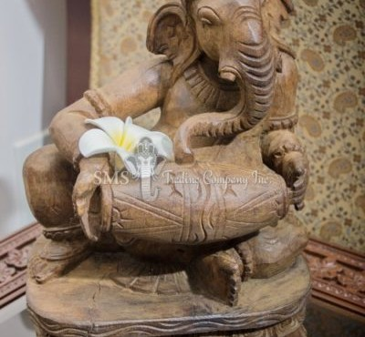 Ganesha with Musical Instrument #8 (Antique)