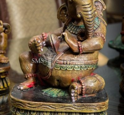 Ganesha with Musical Instrument #4 (Colored)