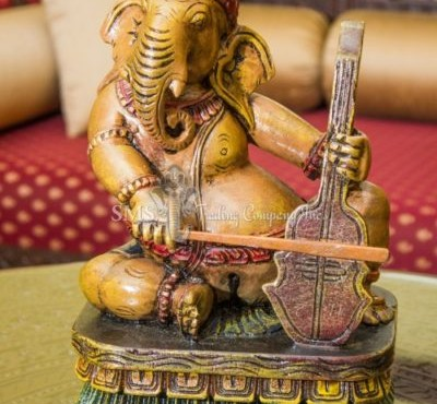 Ganesha with Musical Instrument #5 (Colored)
